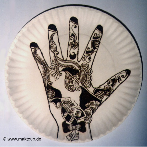 kleine orientreise henna muster aus den vae. Black Bedroom Furniture Sets. Home Design Ideas