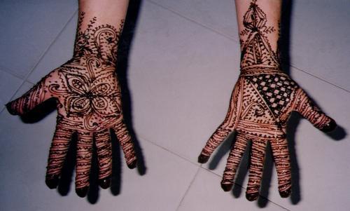Berber muster  Kleine Orientreise - Henna in Marokko